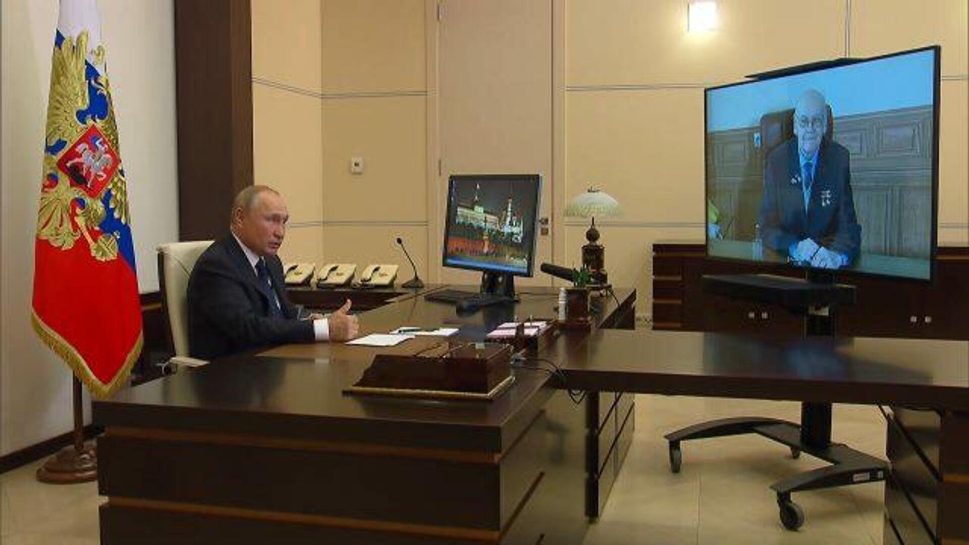 Путин: Россия обладает самыми современными видами оружия - РИА Новости, 1920, 19.09.2020