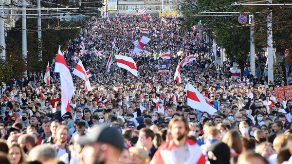 Акция протеста Марш Справедливости в Минске