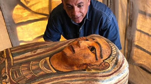 Археологи обнаружили в Саккаре еще 14 саркофагов