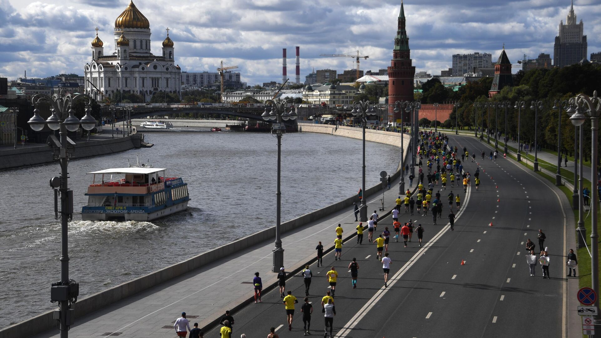 Московский марафон — 2020 - РИА Новости, 1920, 20.10.2020