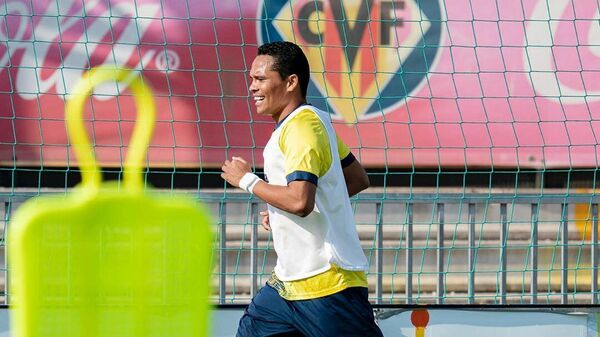 Футболист Вильярреала Карлос Бакка