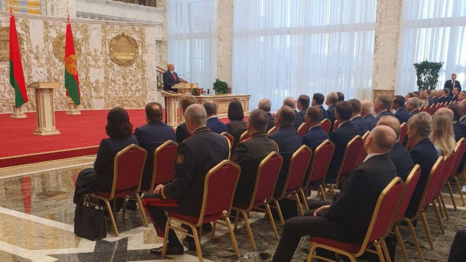 Церемония инаугурации Александра Лукашенко - РИА Новости, 1920, 23.09.2020