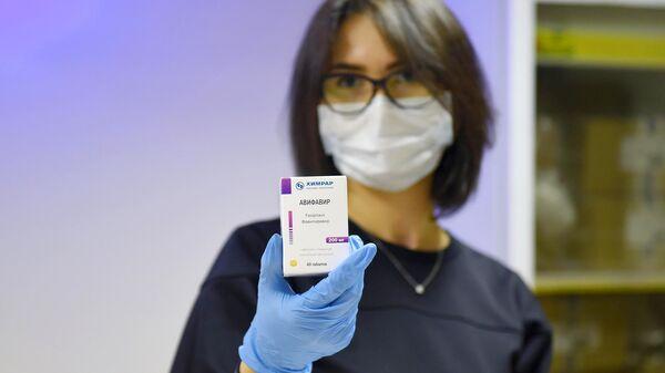 Отечественный противовирусный препарат для лечения COVID-19 Авифавир
