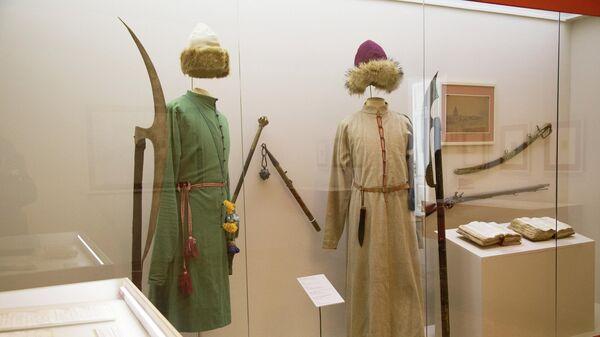 Экспонаты на выставке Средневековая Тула в Выставочном зале федеральных архивов