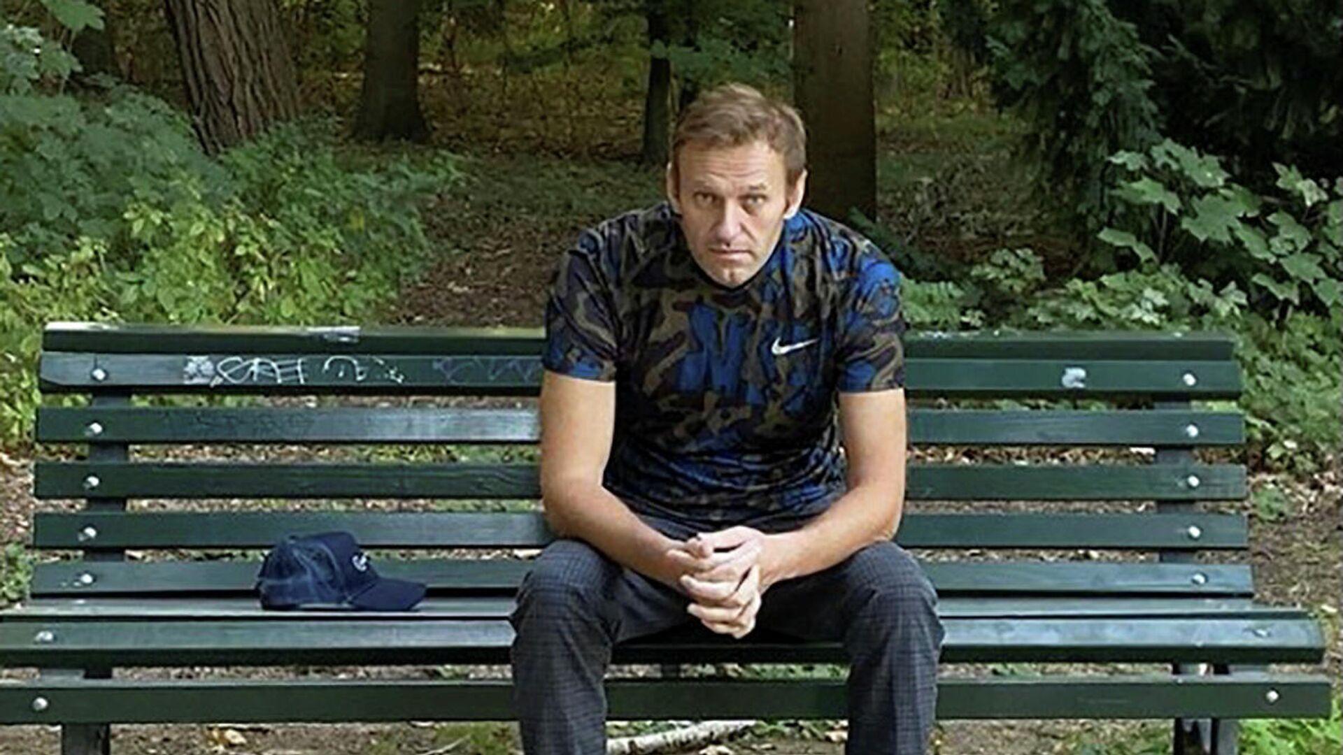 Алексей Навальный в Берлине - РИА Новости, 1920, 06.10.2020