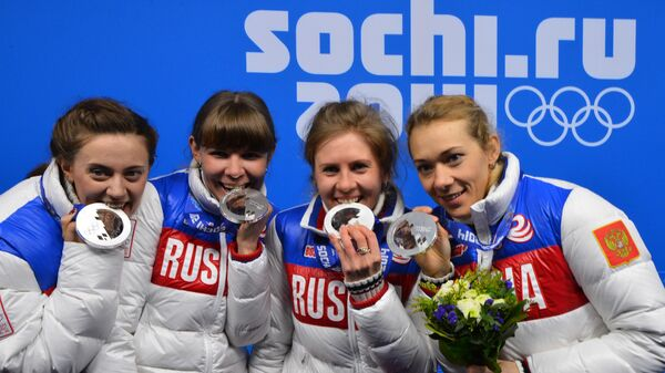 Яна Романова, Екатерина Шумилова, Ольга Вилухина и Ольга Зайцева