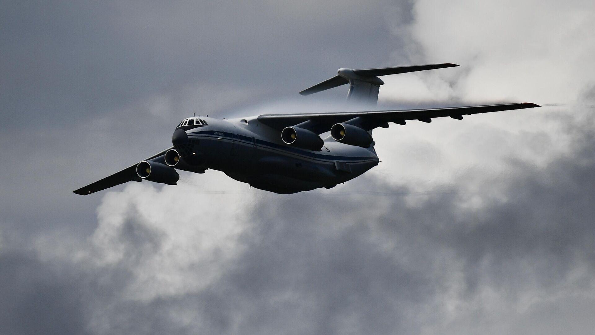 В Мордовии военные самолеты выполнили 17 вылетов для тушения пожара