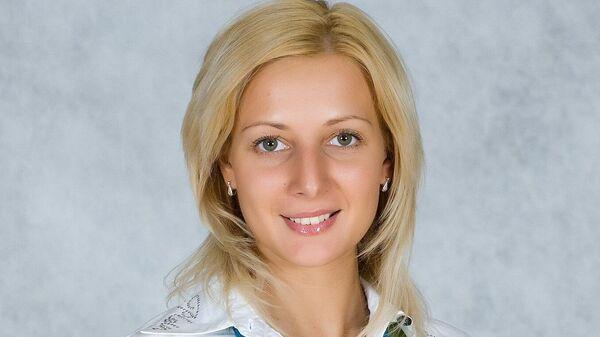Гимнастка Наталья Лаврова
