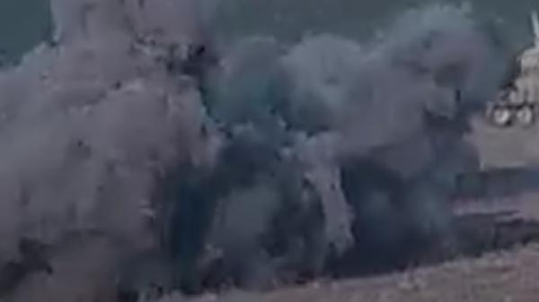 Уничтожение танков Азербайджана