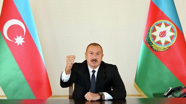 Обращение Президента Азербайджана Ильхама Алиева в связи с ситуацией с Арменией, 27 сентября