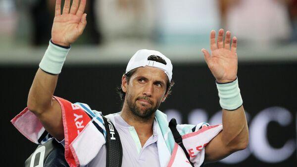 Теннисист Фернандо Вердаско (Испания)