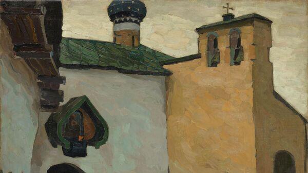Николай Рерих. Печоры. Вход в монастырь. 1903