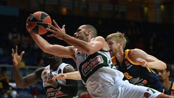 Баскетбол. Евролига. Матч Химки — Панатинаикос