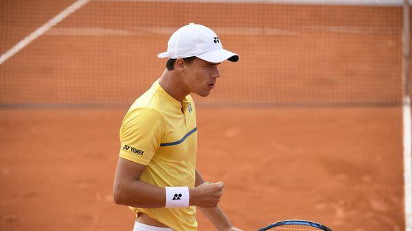 Немецкий теннисист Даниэль Альтмайер