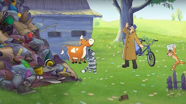 Кадр из мультфильма Простоквашино
