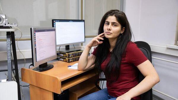 Аспирантка Самарского университета им. Королева Самара Майхуб