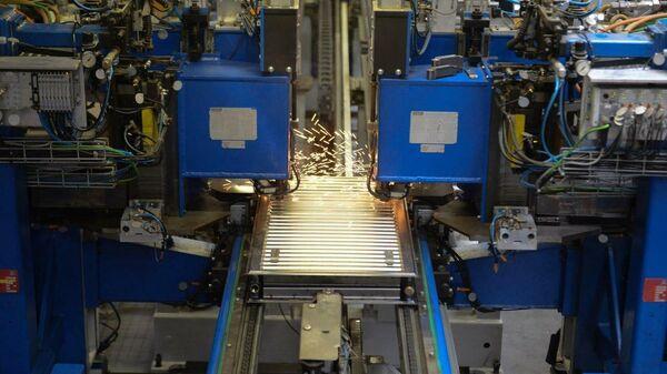 Производство радиаторов компании Kermi на заводе в Подмосковье