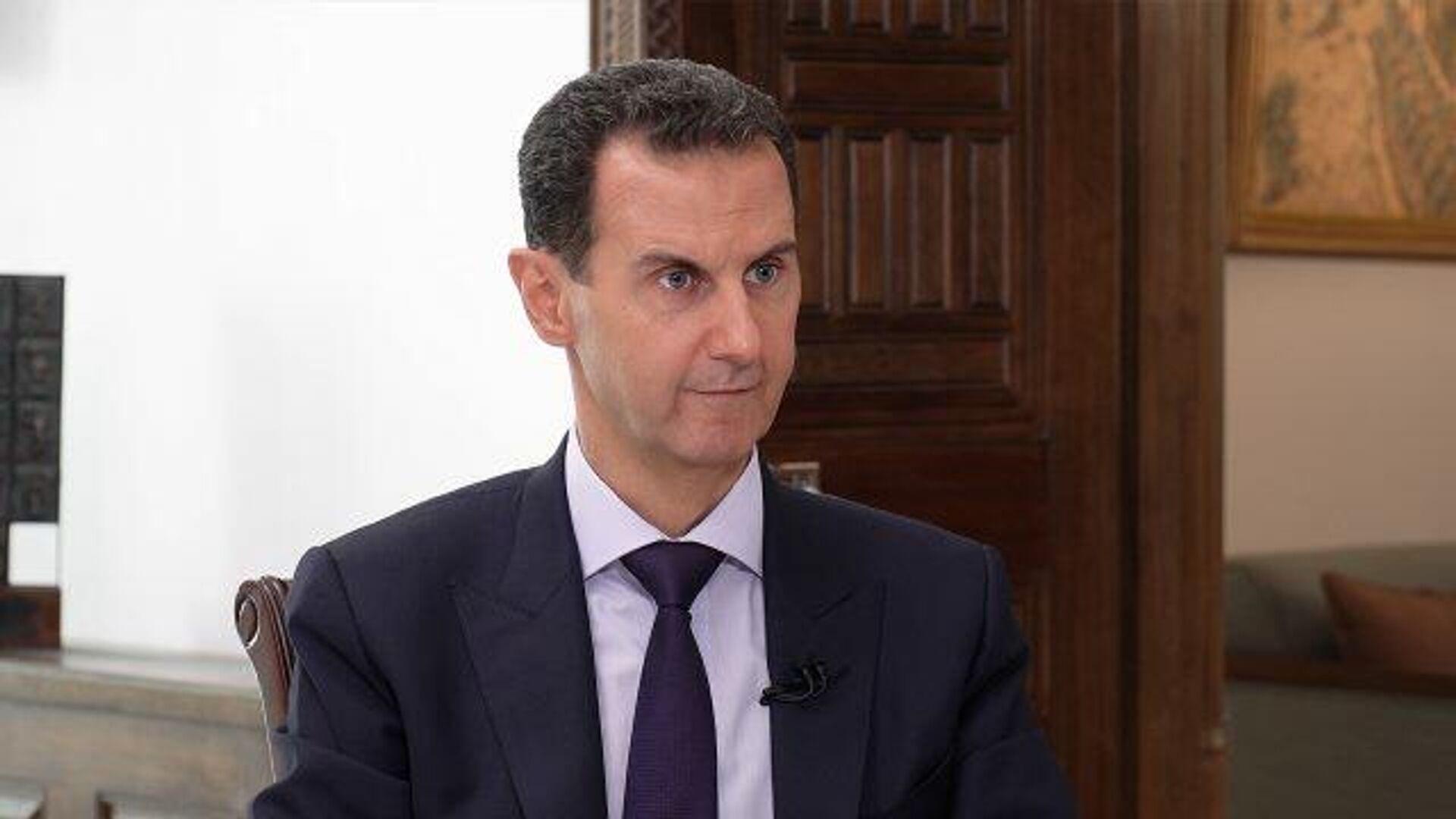 Башар Асад о вакцине от коронавируса: Мы хотели бы обсудить с российскими властями о применении ее в Сирии - РИА Новости, 1920, 07.10.2020