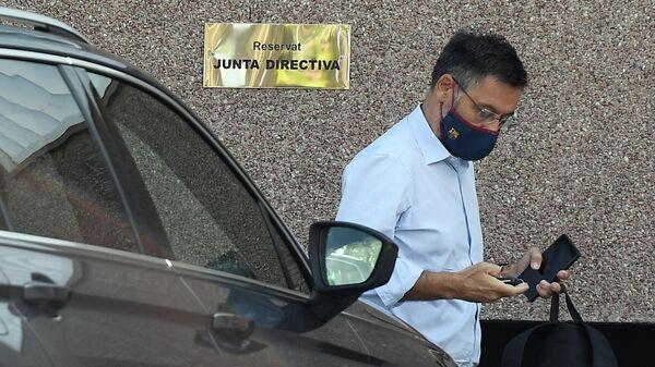 Президенту испанского футбольного клуба Барселона Хосеп Мария Бартомеу