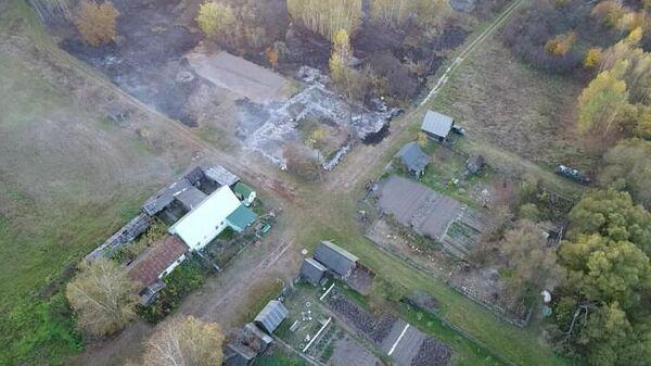 Ситуация на месте ЧС в Рязанской области