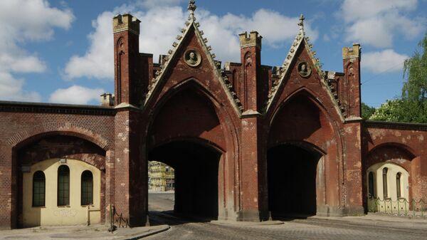 Бранденбургские ворота на улице Багратиона в Калининграде