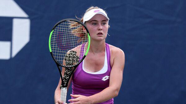 Теннисистка Полина Кудерметова (Россия)