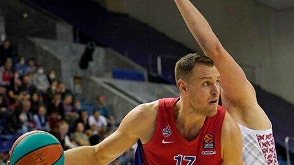Баскетболист ЦСКА Йоханнес Войтманн