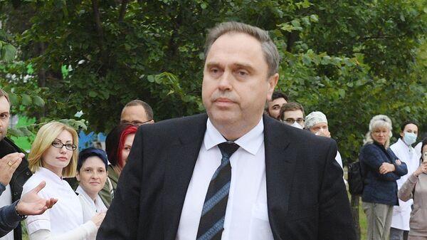 Министр здравоохранения Белоруссии Владимир Караник