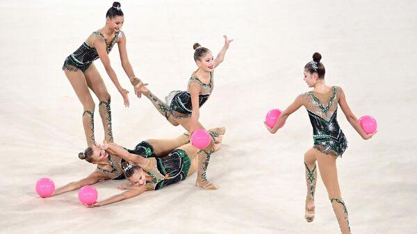 Художественная гимнастика. Матчевая встреча Россия - Белоруссия