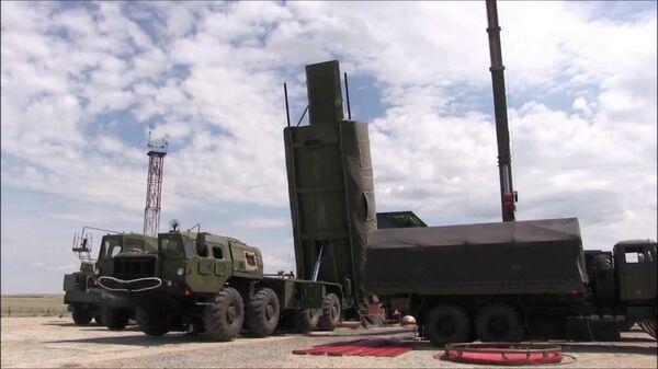 Запуск новейшей ракеты Авангард. Скриншот видео, предоставленного Минобороны РФ