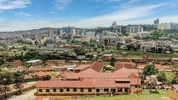 Вид на Кампалу, Уганда