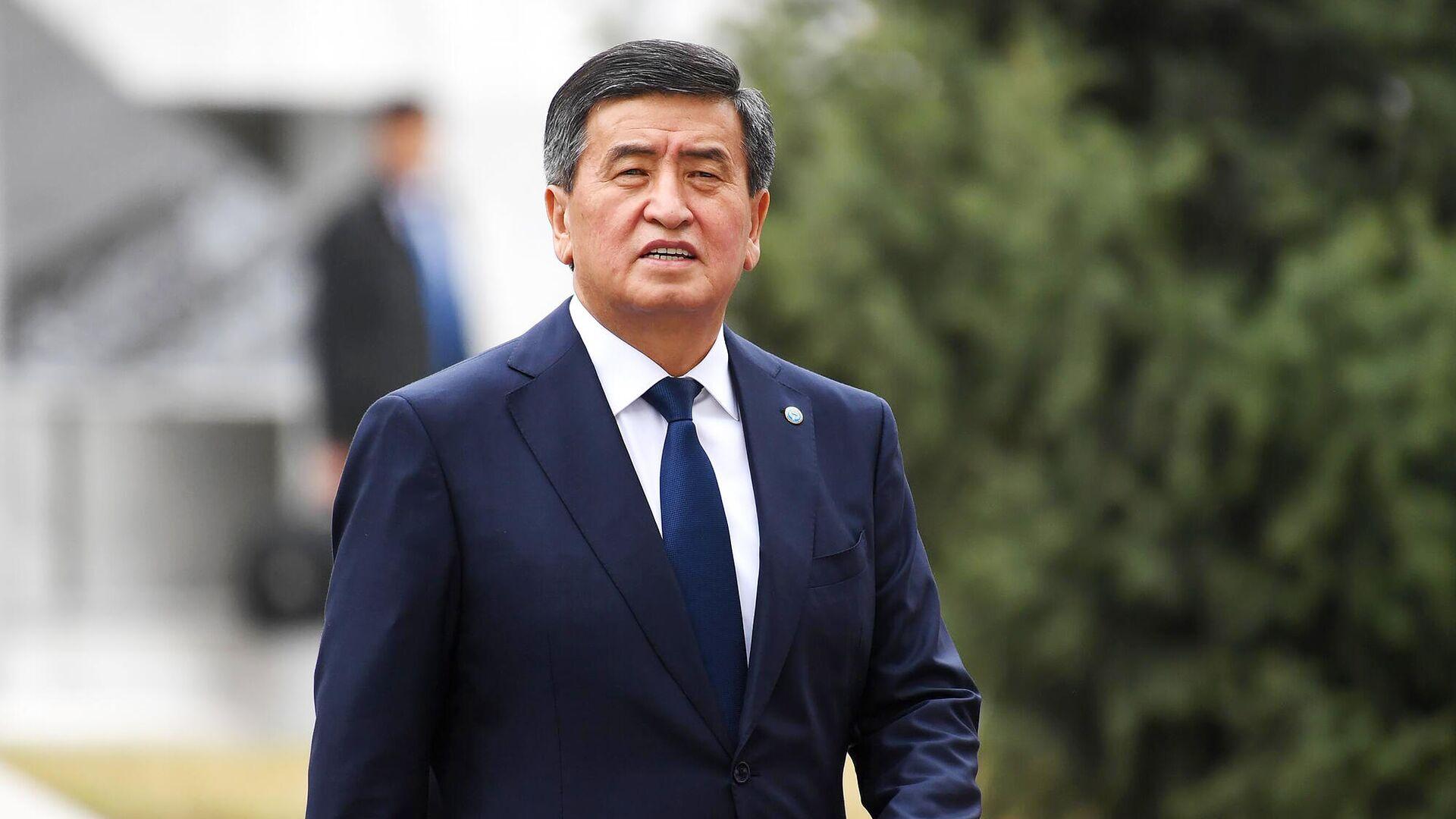 Президент Киргизии Сооронбай Жээнбеков - РИА Новости, 1920, 15.10.2020