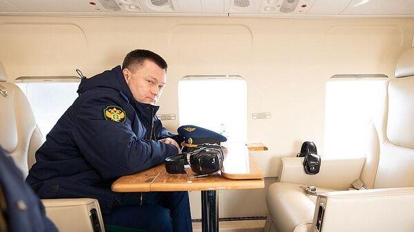 Генпрокурор России Игорь Краснов во время визита на Курилы