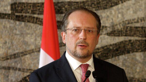 Глава МИД Австрии Александер Шалленберг