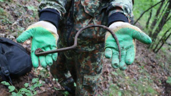Находки времен Гражданской войны, найденные в Хабаровском крае