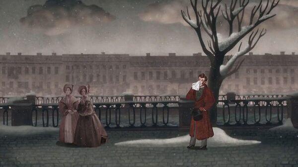 Кадр из мультфильма Нос, или Заговор не таких