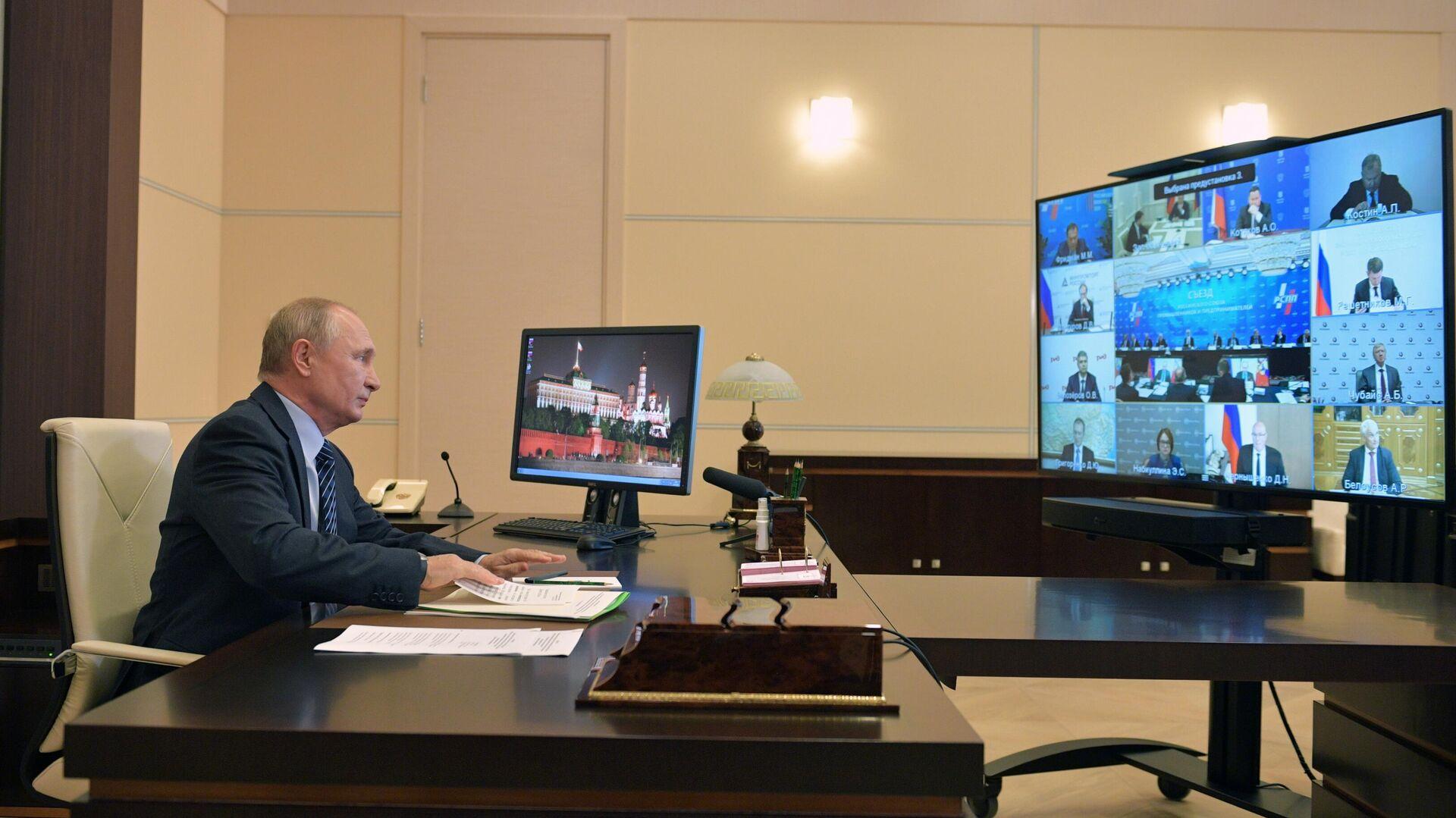 Бизнесмены попросили Путина не вводить новый карантин, пишет РБК