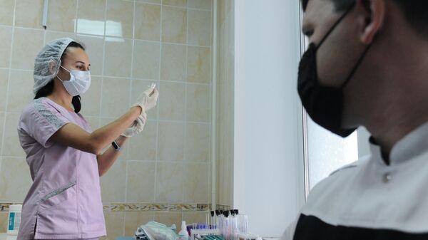 Вакцинация от коронавируса в Тамбове