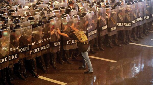 Акция протеста в Бангкоке