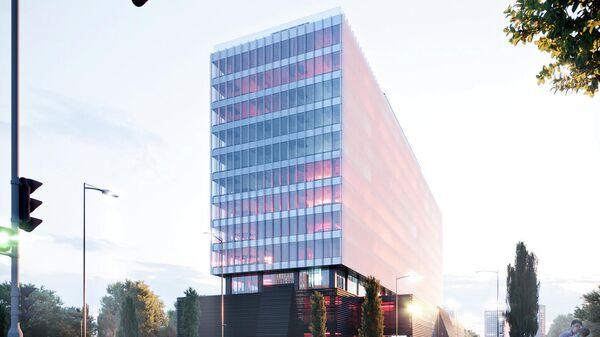 Концепция проекта штаб-квартиры Мосинжпроекта в Москве