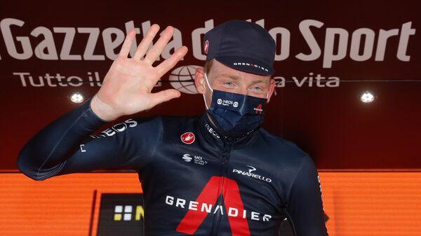 Велогонщик из команды INEOS Тео Гейган Харт (Великобритания)