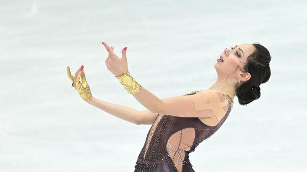 Фигурное катание. III этап Кубка России. Женщины. Короткая программа