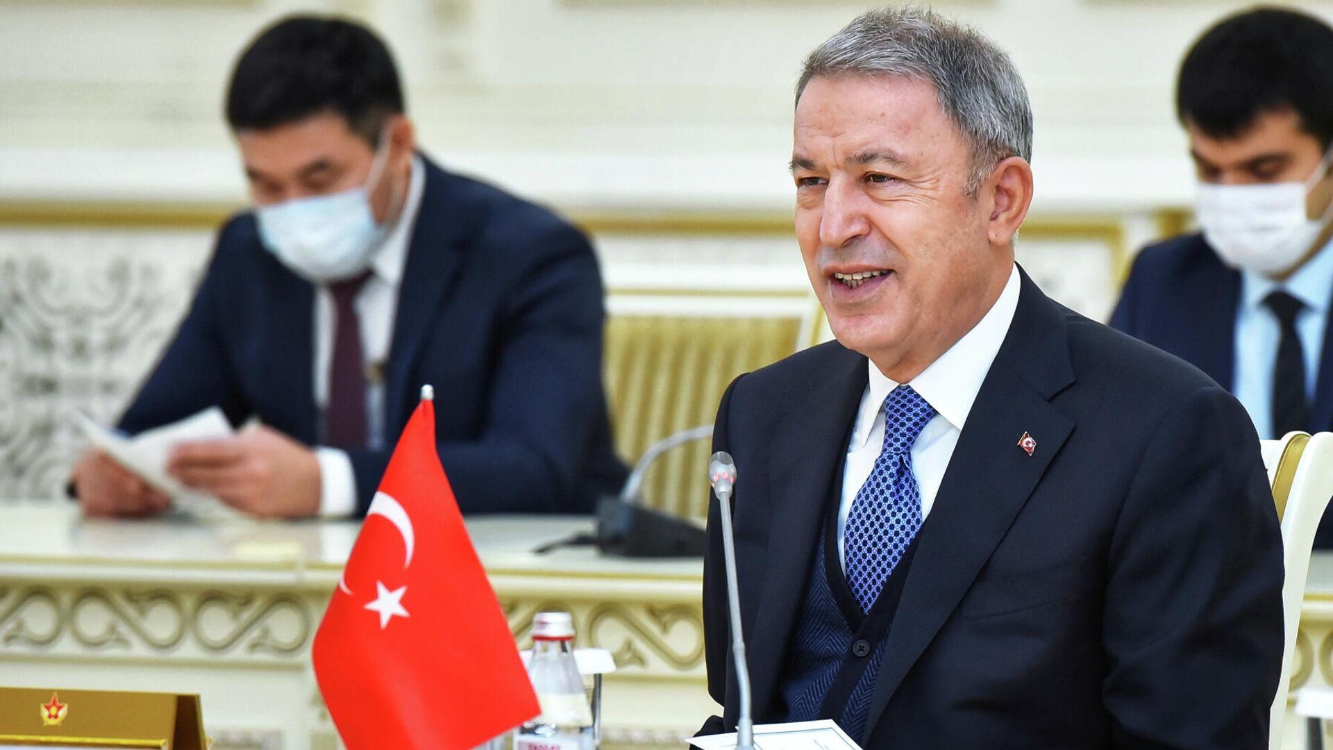 Министр обороны Турции Хулуси Акар  - РИА Новости, 1920, 25.03.2021