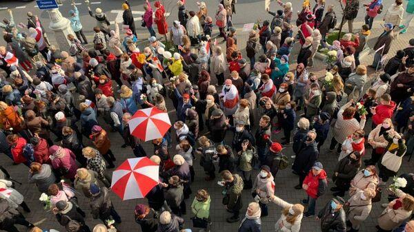 Шествие в центре Минска