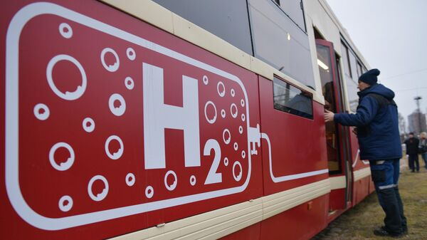 Трамвай на водородном топливе