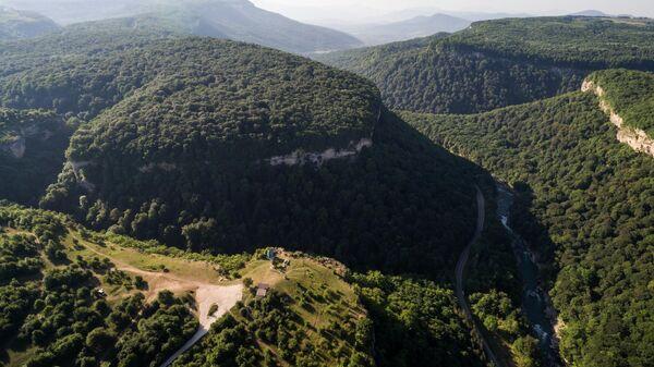 Ущелье Мишоко и каньон реки Белой в Республике Адыгея
