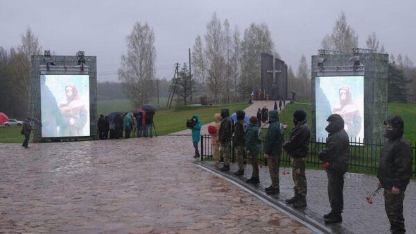 Открытие музейно-мемориального комплекса, посвященный мирным жителям, погибшим от рук оккупантов в годы Великой Отечественной войны
