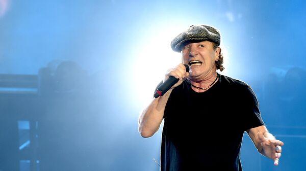 Вокалист AC/DC Брайан Джонсон