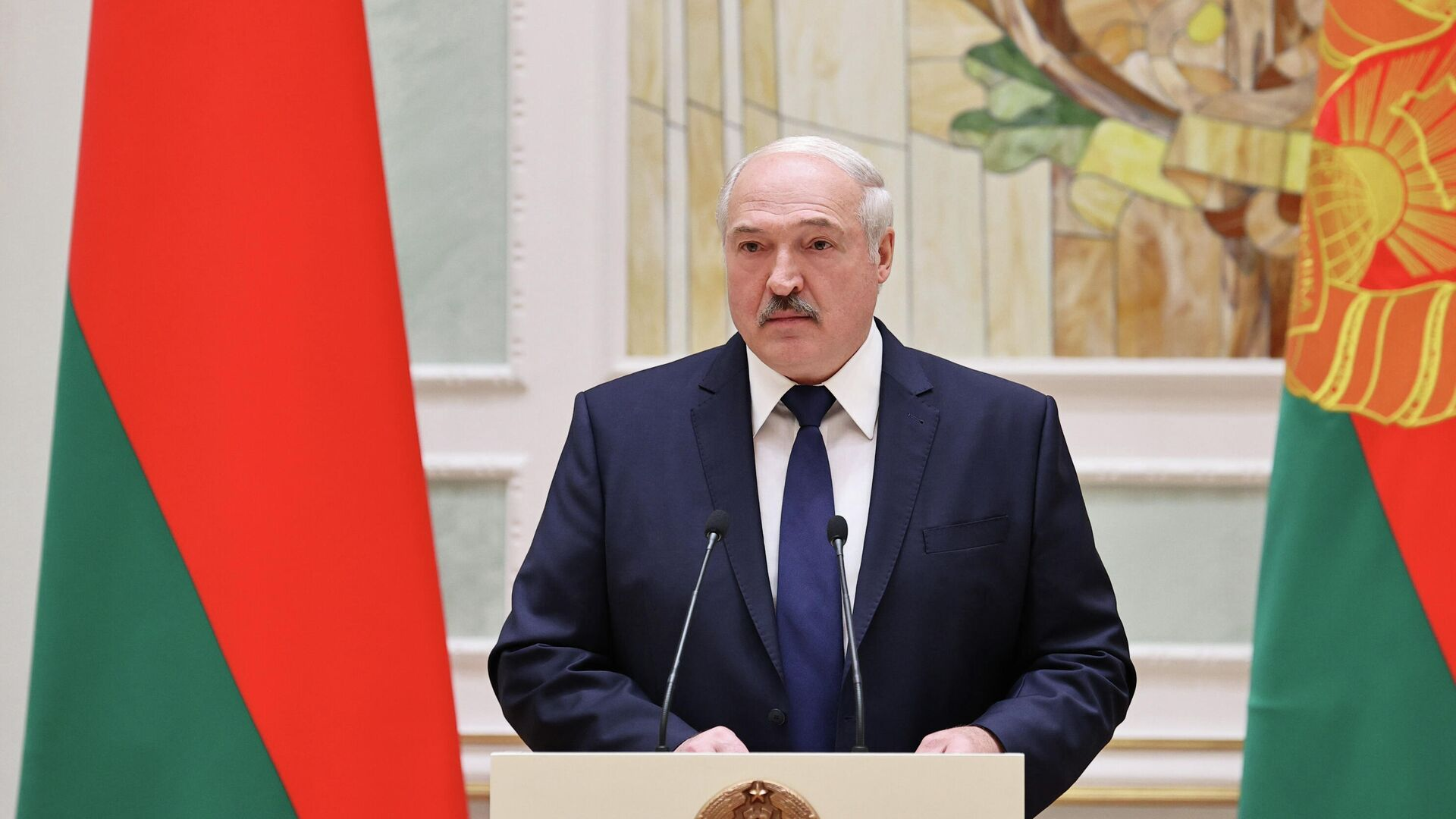 Президент Белоруссии Александр Лукашенко - РИА Новости, 1920, 07.11.2020