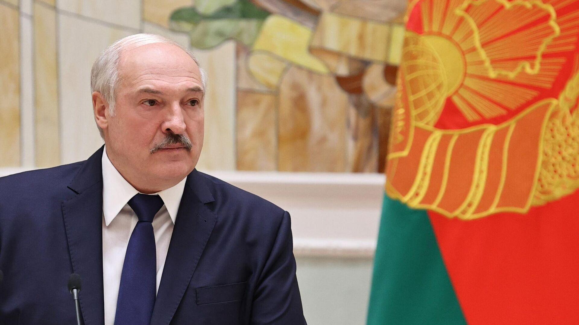 Президент Белоруссии Александр Лукашенко - РИА Новости, 1920, 10.01.2021